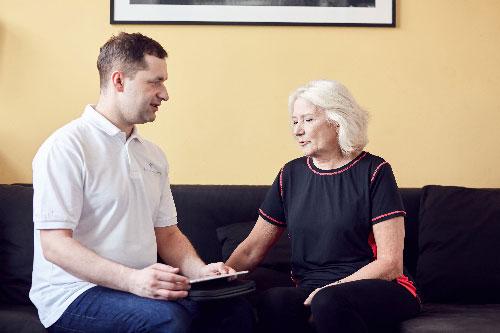 wywiad przed rehabilitacją ortopedyczną