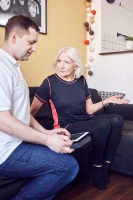 wywiad przed rehabilitacją seniora w krakowie