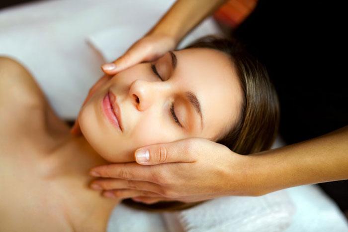podczas masażu